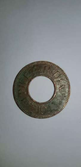 Old indian Raja coin - 1 PICE