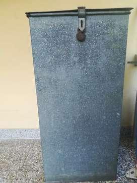 Iron metallic box for storage