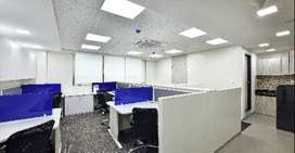 well designed 35 modular workstations with 2-3 cabins