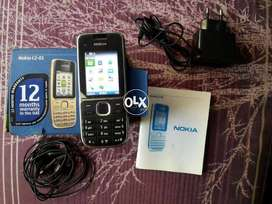 nokia c2 01 orignal impot UAE condition 10/10 complate accessories