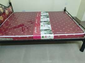 Bed queen size and Godrej Matress