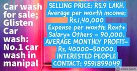 Car wash centre for sale