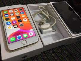 Iphone ६s ६४ gb verygood condition withbillbox and charger