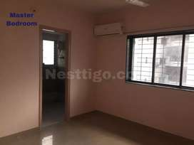 Three flat for rent in vesu with ac