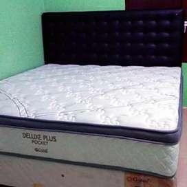 Matras Springbed Central Pocket 200x200 (Matras Tebal + Ventilator)