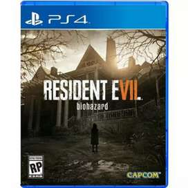 RESIDENT EVIL 7 (PS4) FOR SALE ONLY AT 1200