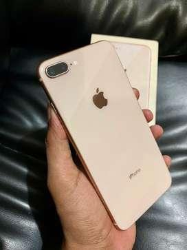 iPhone 8 plus 256Gb Fullset super mulus like new