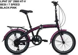 Kami menjual sepeda lipat ukuran 20 dan berkualitas