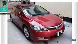 Honda Civic get on very easy monthly installments