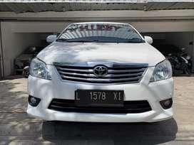 Toyota Innova 2.5 V Diesel Matic 2013 Pajak Baru