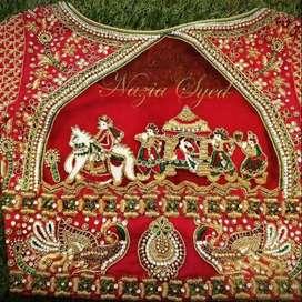 Aari worker with good bridal work knowledge
