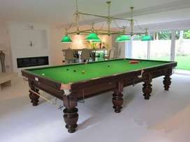 Snooker table Italian slates refurbished modified snooker tables avail