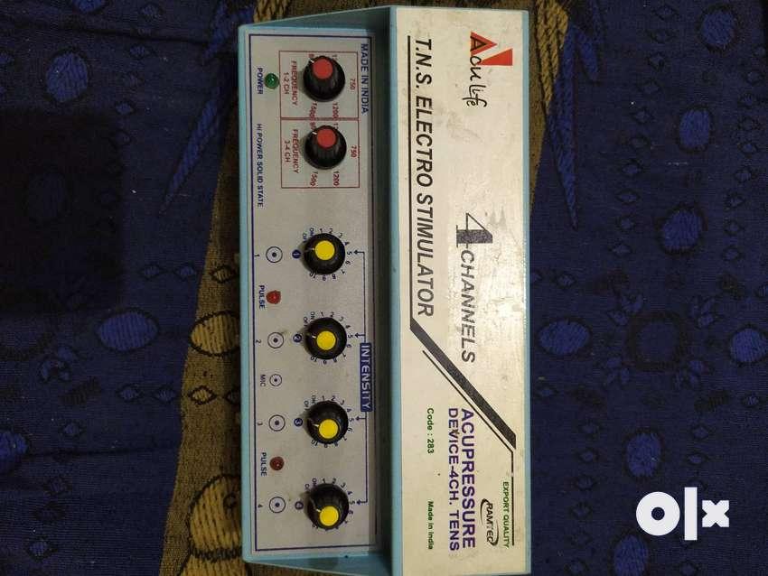 TNS 4 CHANNEL ELECTRO STIMULATOR acuupressure code 283 0