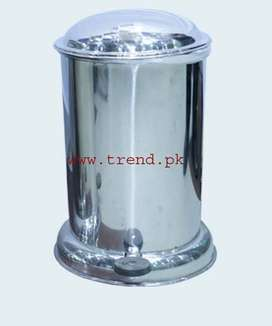 Dustbin Stainless Steel with Pedal Lid