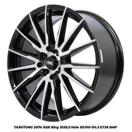 Velg Mobil Calya, Mazda 2, Accord VTI dll Ring 15 HSR TARUTUNG