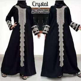 Abaya bordir kristal