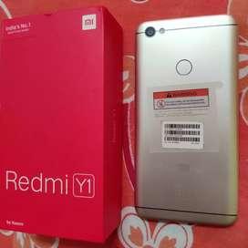 Redmi Y1 16MP Selfie Light Camera 3GB RAM 32GB ROM Gold