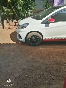4 Mag wheel with 6  broad tyres size 215/45 R 17 urgent sale