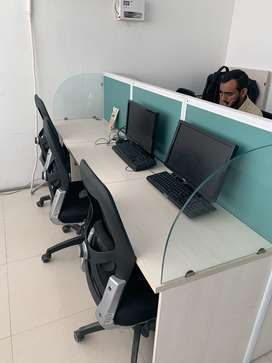 Co working space available 7 seats