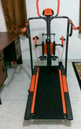 Promo murah treadmil manual 5 fungsi