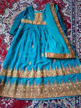Frock full embroidery