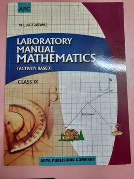 Maths Lab Manual class 9 ML Aggarwal