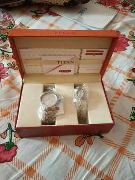 Titan Couple Watch Unused and Brand new