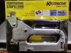 Staple Gun Stapler Krisbow KW01 3176 Heavy Duty