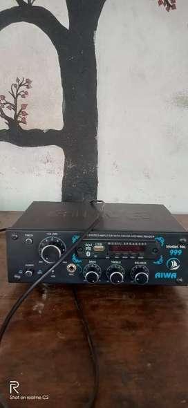 Aiwa modal no 999 amplifire