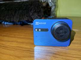 EZVIZ S5 Action Camera/Sports Camera 4K WiFi TouchScreen Color Blue
