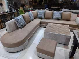 L sofa set easy emi best quality in market 15999adv  5333x6 emi