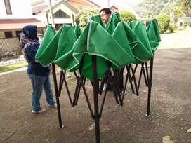 Tenda lipat  ukuran 2x2  ready stok  biru polos