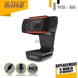 WEBCAM MURAH M-Tech  WB 300 with Microphone