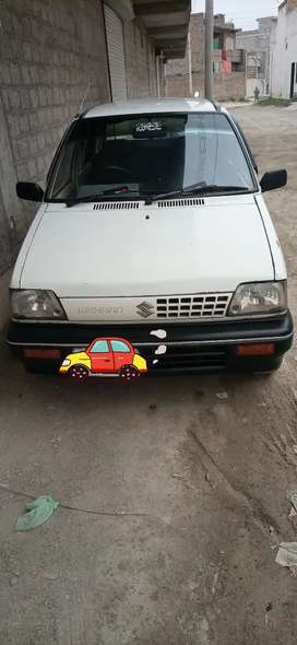 Total genuine condition Mehran car