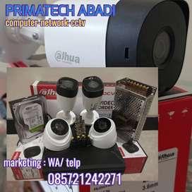 CCTV ONLINE DAHUA 4 CHANEL