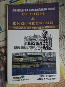 Design engineering KTU textbook