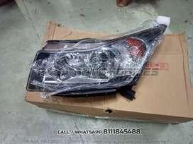 Chevrolet Cruze Head Lamp & Body Parts