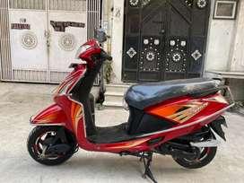 2019 HERO PLEASURE 110 cc RED