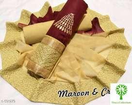 Hrishita Casual Pure Cotton Salwar Suits & Dress Materials