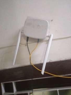 Tenda wifi router with optical modem ont onu box modem