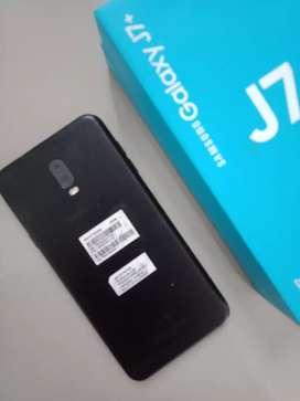Samsung j7+ 4/32gb mulus fullset like new