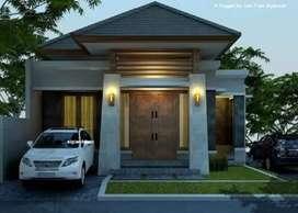 Rumah Siap bangun dekat kampus Unila Rajabasa