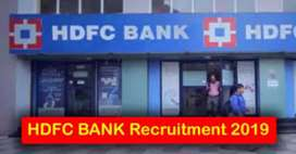 Urgent Hiring in HDFC Bank driver's collection