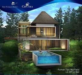 Dijual rumah villa Mewah modern taman dayu pandaan