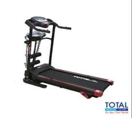 Free Ongkir Treadmill Elektrik 3 fungsi TL-629 motor 1,5 HP Terlaris