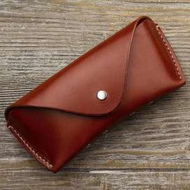 Genuine Leather Glasses Case, Glasses Cover, Glasses Case