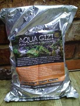 Pupuk dasar aquascape aqua gizi