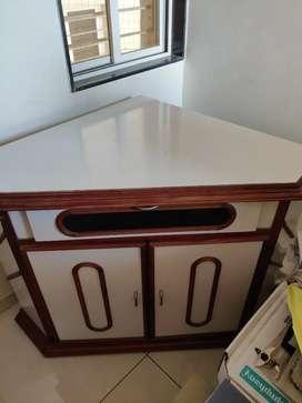 TV Corner with storage