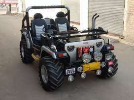 Open Jeep modified in Punjab sale