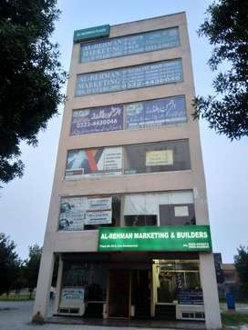 Ground floor shop for sale in Bahria Orchard Lahore,unique Features